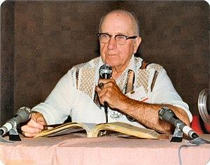 H. Warner Munn - H. Warner Munn in 1978. Photo by Will Hart.