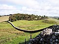 Hadrians Wall from Houseteads Fort - geograph.org.uk - 998553.jpg
