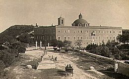 Haifa, Stela Maris monastery at the end of the 19th century (1606a).jpg