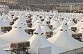 Haji pilgrimage mina tent city.jpg