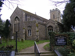 Halesworth - Image: Halesworth Church of St Mary the Virgin