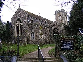 Halesworth - Image: Halesworth Church of St Mary the Virgin
