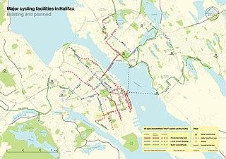 Cycling in Halifax, Nova Scotia Cycling infrastructure in Halifax, Nova Scotia