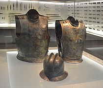 Hallstatt culture Kleinklein - muscle cuirasses & double ridge helmet.jpg