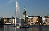 Hamburg fountain