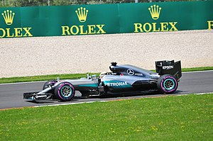 2016 Austrian Grand Prix - Lewis Hamilton qualified in pole position and went on to win the race.