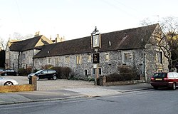 Hangleton Manor Inn and The Old Manor House, Hangleton Manor Close, Hangleton (IoE Code 365538).jpg