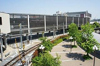Nishinomiya-Kitaguchi Station Railway station in Nishinomiya, Hyōgo Prefecture, Japan