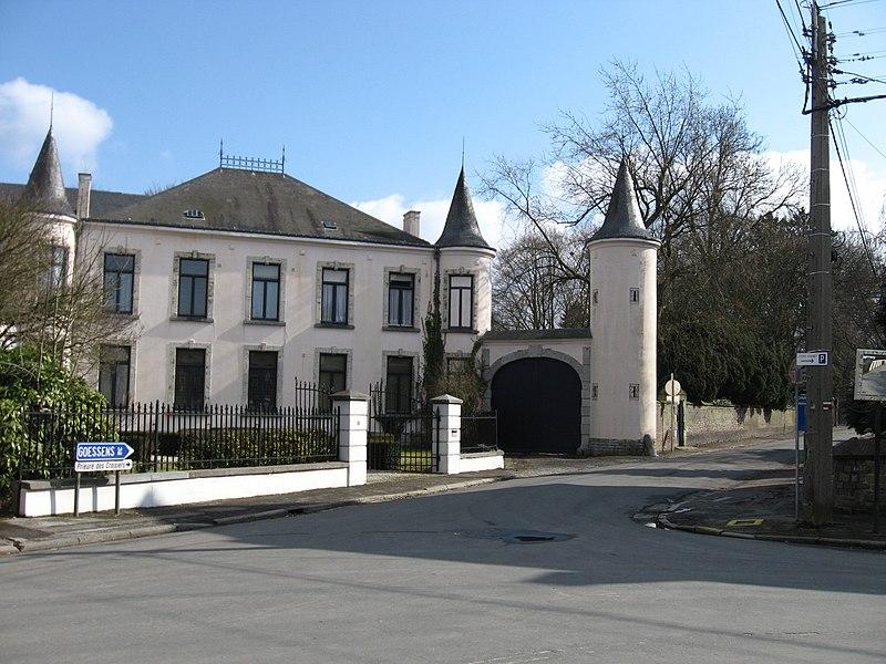 Le Château Snyers a Hannut