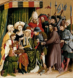 Christ before Pilate (Wurzach altarpiece)
