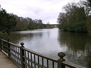 Harewood House - Image: Harewood Lake
