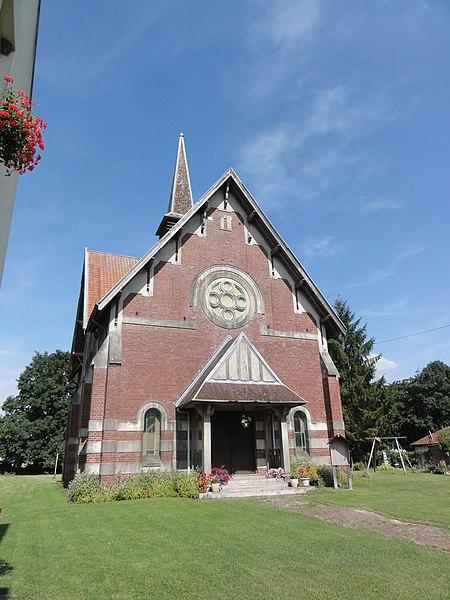 Hargicourt (Aisne) chapelle presbytérien