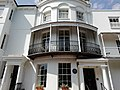 Harold Pinter's former House in Ambrose Place, Worthing.jpg