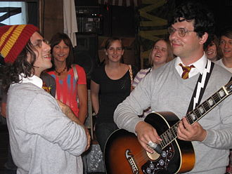 Harry and the Potters - Harry and the Potters performing in June 2010. From left to right: Joe, and Paul DeGeorge