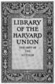 Harvard Union bookplate.png