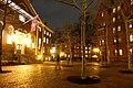 Harvard Yard at night, Harvard University - Cambridge, MA - DSC07226.jpg