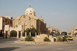 Al-Hasakah and the Syrian Orthodox church of the city