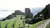 Hastings Castle, foje la administra centro de la Seksperforto