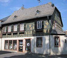 Rheingauer volksbank wikipedia for Fachwerk winkel