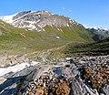 Haugabreen falls looking down - panoramio.jpg