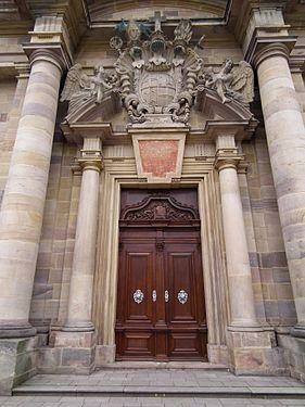 Hauptportal Dom zu Fulda Juni 2012.JPG