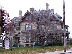 Hearthstone Historic House Museum - Image: Hearthstone Appleton Wisconsin