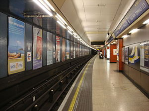 Heathrow Terminals 2 & 3 tube station - Image: Heathrow Terminals 1 2 3 tube