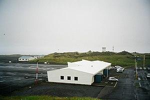 Vestmannaeyjar Airport - Image: Heimaey airport