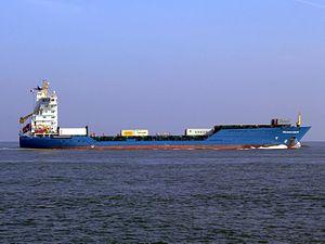 Helena Sibum p3 approaching Port of Rotterdam, Holland.JPG
