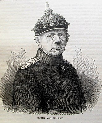 Helmuth von Moltke the Elder - Sketch of Helmuth von Moltke