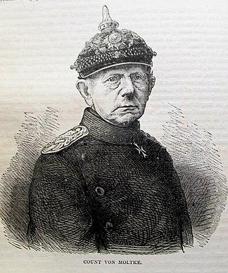 Helmuth von Moltke the Elder - Sketch of Helmuth von Moltke
