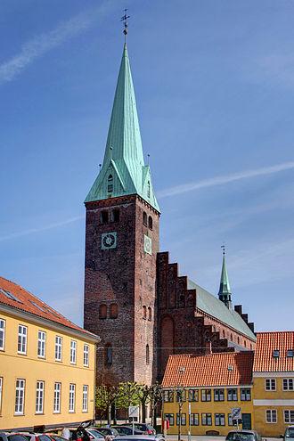 Saint Olaf's Church, Helsingør - Image: Helsingörs domkyrka 1