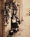Henry Peach Robinson - Little Red Riding Hood Arrives at the Door of Her Grandmother's House.jpg