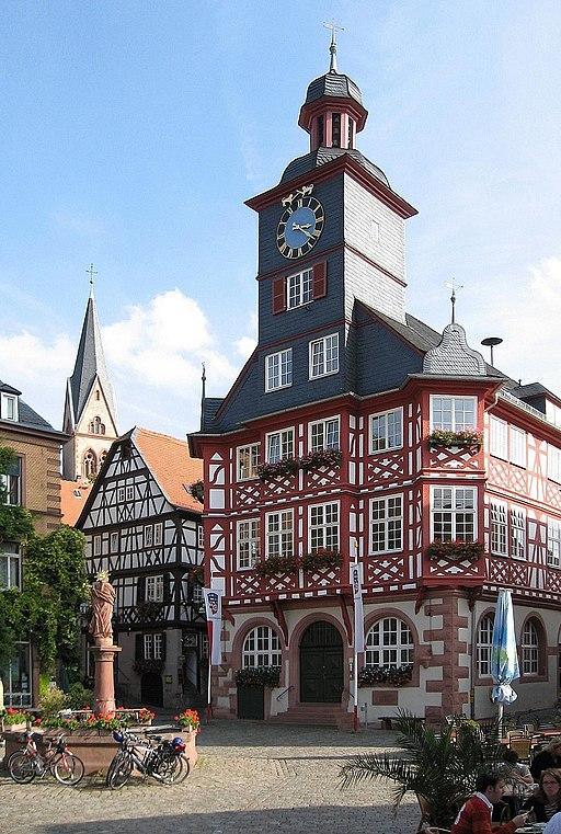 Rathaus Heppenheim an der Bergstraße, town hall 2007
