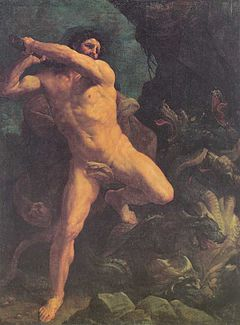 Heracles Hydra Guido Reni