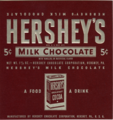 Hershey's Milk Chocolate wrapper (1940-1950).png