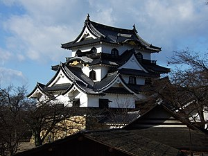 Hikone Castle Keep Tower