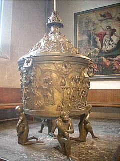 Baptismal font (Hildesheim)
