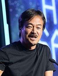 Hironobu Sakaguchi in 2015 (16102150083) (cropped).jpg