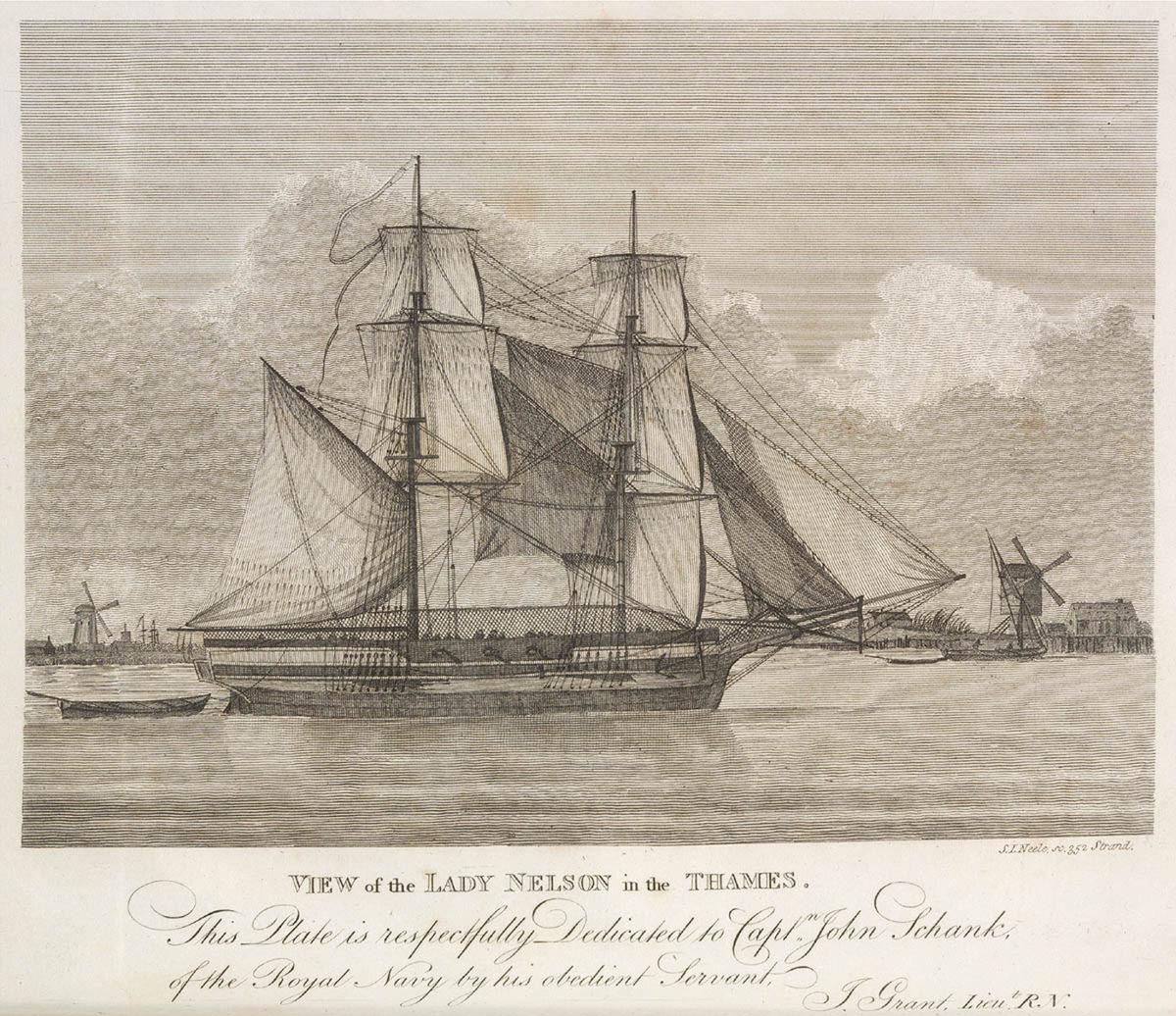 Hms Lady Nelson 1798 Wikipedia
