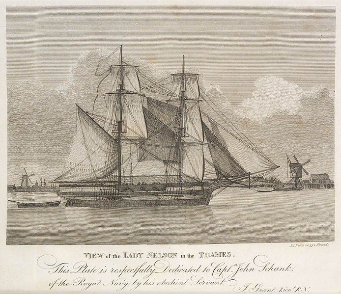 File:His Majesty's vessel the Lady Nelson - 1799.JPG