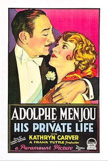 His Private Life poster.jpg