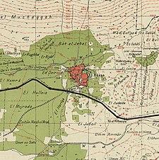 Historische kaartserie voor het gebied van al-Bassa (jaren 40) .jpg