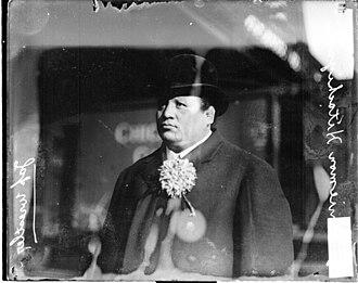Hitachiyama Taniemon - Hitachiyama in Chicago, 1907