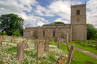 "The ""redundant"" Holy Trinity Church, Wensley, in North Yorkshire, is listed at Grade I. Much of the current structure was built in the 14th and 15th centuries. HolyTrinity back 8812.jpg"