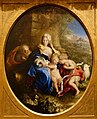 Holy Family with the Young Saint John the Baptist, by Bartolomeo Guidobono, c. 1680-1685, oil on canvas - Blanton Museum of Art - Austin, Texas - DSC07972.jpg