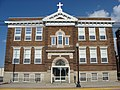 Holy Trinity Church in Coldwater, school front.jpg