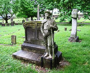 Old Gray Cemetery - Horne monument