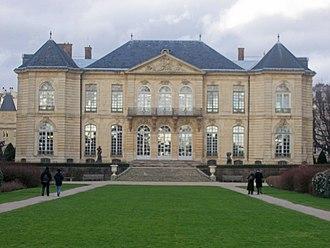 Hôtel Biron - View of Hôtel Biron