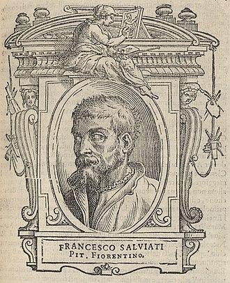 Francesco de' Rossi - Image: Houghton Typ 525 68.864 Vasari, Le vite Francesco Salviati